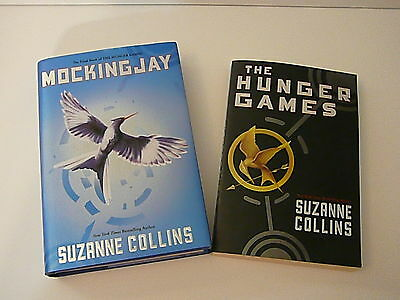 Hunger Games and  Mockingjay  by Suzanne Collins 2010 Hardcover and Paperback