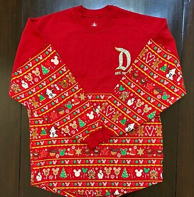 "Disneyland Resort ""Est. 1955"" 2019 Christmas Adult Spirit Jersey Small Nwt"