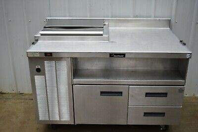 """DELFIELD 18SC52 52"""" WORKTOP REFRIGERATOR with TOPPING RAIL"""