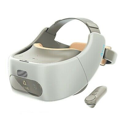 HTC Virtual Reality Headset Vive Focus 3K AMOLED With Snapdragon Speaker White