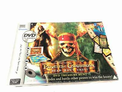 Pirates Of The Caribbean DVD Board Game - Dead Mans Chest - Great Condition