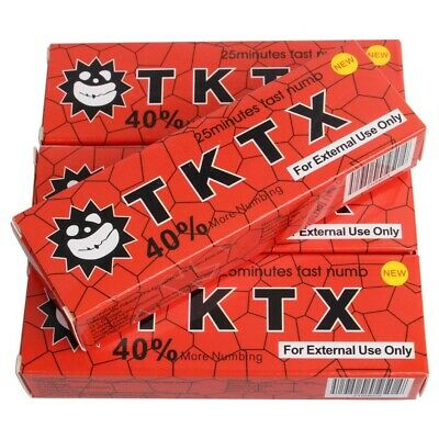 2* Tk Tattoo 38-40% Numbing skin Topical Anesthetic Numb 25 minutes Wholesale