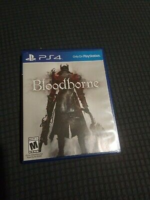 BLOODBORNE game in case for Sony Playstation 4 PS4 system