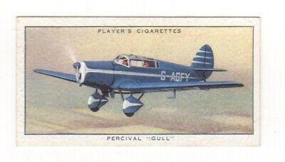 Civil Aeroplane Card - Percival Gull