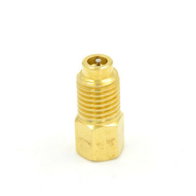 """R12 To R134A Fitting Adapter Outter 1/2"""" Acme Inner 1/4'' Sae Male Tool SG NG"""