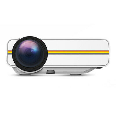 Led Mini Projector High Resolution Ultra Portable HD 1080P Home Theater