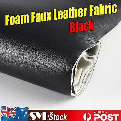3.5mm Foam Upholstery Synthetic Leather Fabric Vehicle Headliner Seat Renew DIY