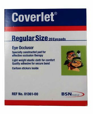 BSN Coverlet Regular Eye Patches, Pack of 20