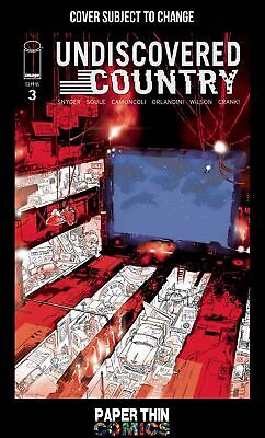 Undiscovered Country #3 (Mr) Preorder Wk02 Jan 8 2020