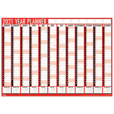 2020 Large Yearly Planner A1 Size Wall Calendar Year to View Office Home 84X60cm