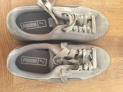 PUMA WOMEN'S SUEDE Platform Bubble Trainers RRP £80