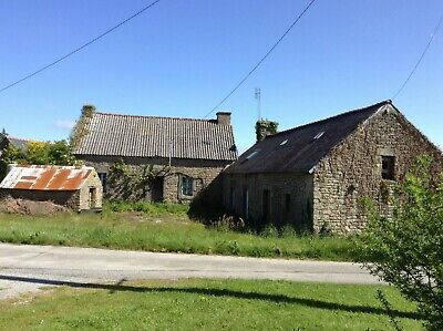 Brittany Farm House near Gourin France