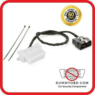 FOR NISSAN DUMMY OBD PORT anti-theft security fake OBD2 connection replacement