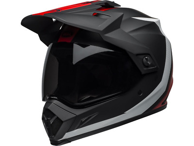 Mx-9 Adventure Mips Switchback Matte Black/Red/White Bell