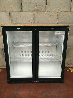 Sterling PRO 2 Door Drinks Display/ Bar Chiller/ Cooler/ Fridge LED