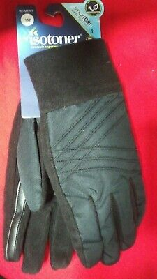 Brand New with Tag 1 SZ Isotoner Women's SmartDRI Smart Touch Gloves 842KR