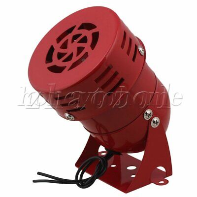 AC110V Industrial Mini Alarm High Decibel Mini Siren Motor Siren Horn MS-190 Red