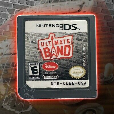 Ultimate Band [Nintendo DS Music Rhythm Rock & Roll Pop Rock Band Guitar Hero US