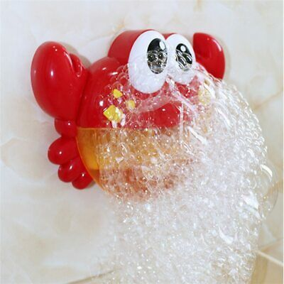Baby Bath Toys Electric Automatic Crab Bubble Machine Toy Swimming Bathroom