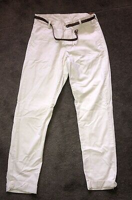 H&M girls beige trousers/chinos Size 12-13y.