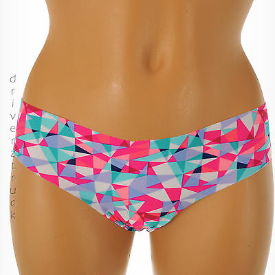 SO INTIMATES Junior's SMALL SMOOTH Multi-Color TRIANGLE THONG Panties #S1332210