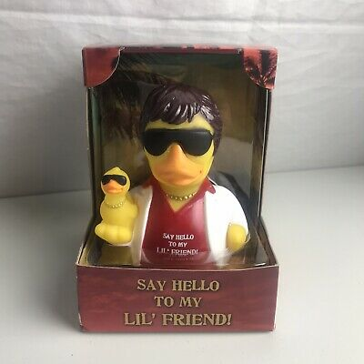 Celebriduck for Al Pacino Scarface Fans Say Hello to My Lil Friend Rubber Duck