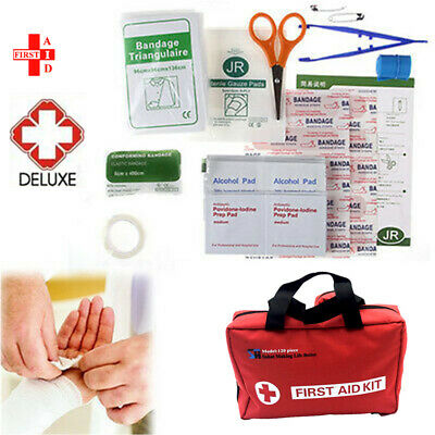 First Aid Kit Family Supplies Survival Medical Workplace Travel Set AU