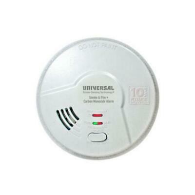 AC Hardwired Iophic Smoke//Fire C.Monoxide /& Natural Gas Alarm w//B Universal S.I