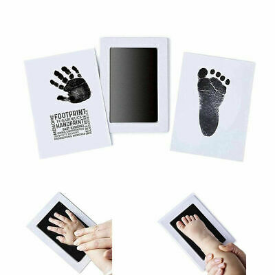 Baby Handprint Footprint Ink Pads Paw Print Ink Kits For Baby And Pet Dog W4M8T
