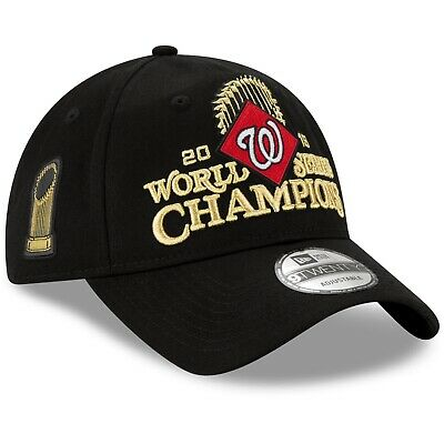 Washington Nationals New Era 9TWENTY World Series Champions Locker Hat Dad Cap