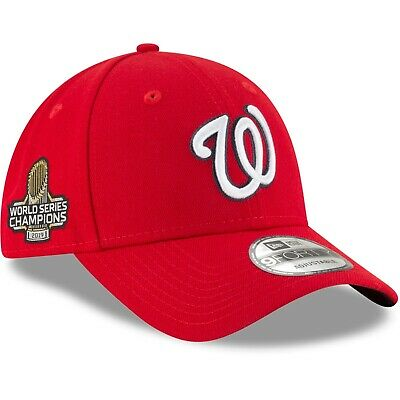 Washington Nationals New Era 9FORTY World Series Champions Strapback Cap Hat
