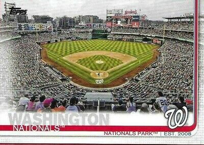 2019 Topps Washington Nationals Series 1 And 2 Team  Set, 19 Cards World Series