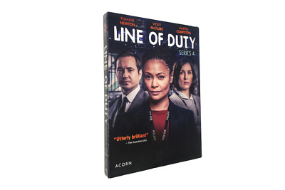 Line of Duty Season 4(DVD, 2018, 2-Disc Set) 1-3 working days by usps