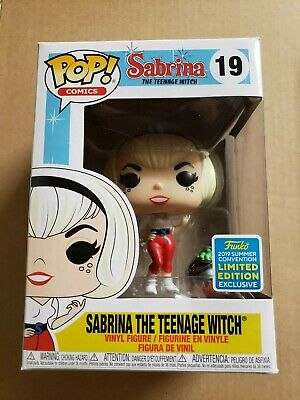 Funko pop Sabrina the teenage witch SDCC 2019 summer con exclusive