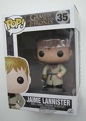 Funko Pop Game of Thrones JAIME LANNISTER w/Gold Hand VAULTED w/ Pop Protector