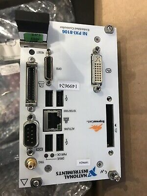 National Instrument NI PXI-8106 2.16 GHz Dual-Core PXI Embedded Controller