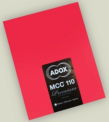 Adox MCC 110 VC FB Glossy, 9.5 x 12in Pack of 50 ORIGINAL BEST - Freezer Stored