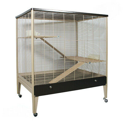 Nagerkäfig Nagervoliere Happy Home 99 A von Montana Cages inkl. Holzausstattung