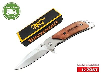 Browning 338 Knife Folding  Pocket Knife Survival Fishing Hunting Camping EDC