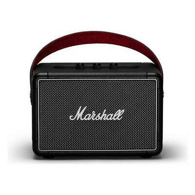 Marshall Kilburn II Bluetooth Speaker Black Compatible With iPod iPhone And iPad