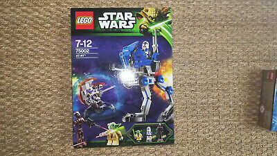 LEGO NEUF scellé STAR WARS 75002 AT RT yoda