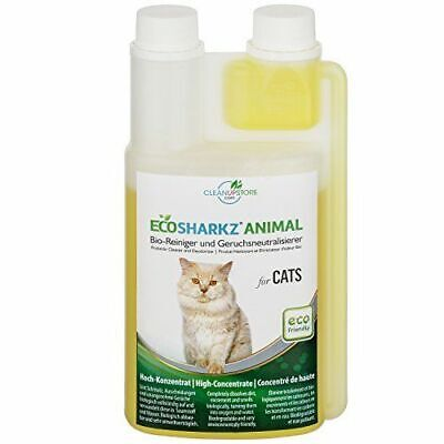 Best Cat Urine Remover - Cleans Litter Tray: Ecosharkz ANIMAL for CATS Probiotic