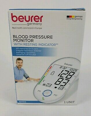 Beurer Upper Arm Blood Pressure Monitor, BM55 FREE SHIP