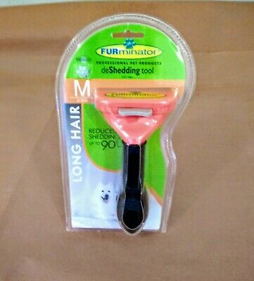 FURminator deShedding Tool for Long-haired Dogs Sz Medium 21-50lbs. New in Box.