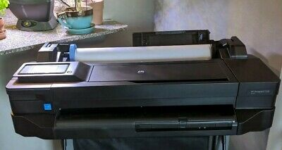 HP DesignJet T120-24 inch PRINTER CUSTOM DUST COVER EMBROIDERY !