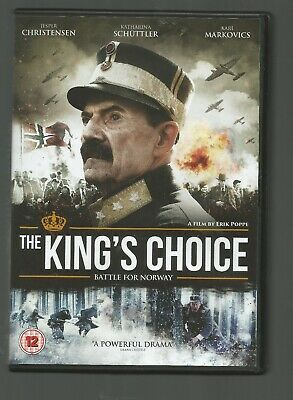 THE KING'S CHOICE Battle For Norway - UK R2 DVD - Norwegian - English Subtitles