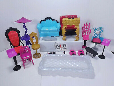 Monster high Doll Playset Furniture Lot