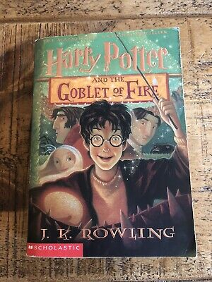 Harry Potter And The Goblet Of Fire - Us Scholastic Edition - Rare Edition!!