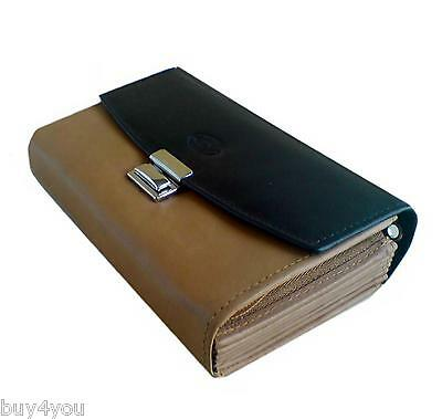Leather Waiter Waitress Bag Wallet Purse Waiter Wallet Taxi Wallet Case