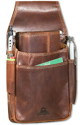 Woodland Waiter Pocket Holster with Various Compartments from Buffalo Leather IN